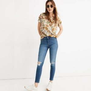 "NWT Madewell 9"" High-Rise Skinny Crop Jeans"